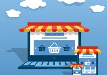 immagine di mockup diverse piattaforme e-commerce